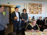 Župan obiskal javna zavoda na Zlatem Polju